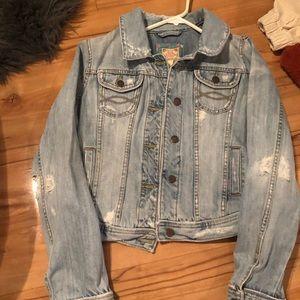 Vintage Abercrombie ans Fitch denim jacket